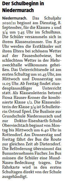 """""""Der Neue Tag"""" vom 14.07.2020"""